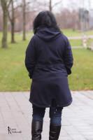 Big Lady Cadiz, Plus-Size-Softshelljacke Parka, Schnittmuster