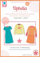 Ophelia, Shirt und Kleid, Papierschnittmuster