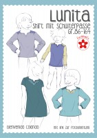 Lunita, Mädchen-Passenshirt, Papierschnittmuster