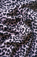 Nicky Velour Stoff Animal Print
