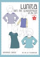 Lunita, Mädchen-Passenshirt, Schnittmuster