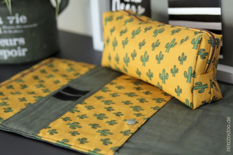 RollUp Tasche aus Kaktus-Stoff