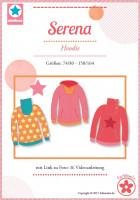 Serena, Kinder-Hoodie, Schnittmuster
