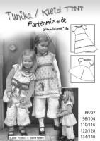 TINI, Stufenkleid, Papierschnittmuster