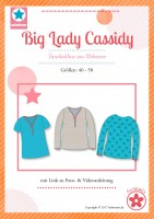 Big Lady Cassidy, Plus-Size-Tunika, Schnittmuster