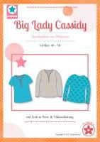 Big Lady Cassidy, Plus-Size-Damentunika, Papierschnittmuster