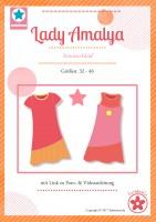 Lady Amalya, Sommerkleid, Papierschnittmuster
