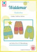 Waldemar, Outdoorhose, Papierschnittmuster
