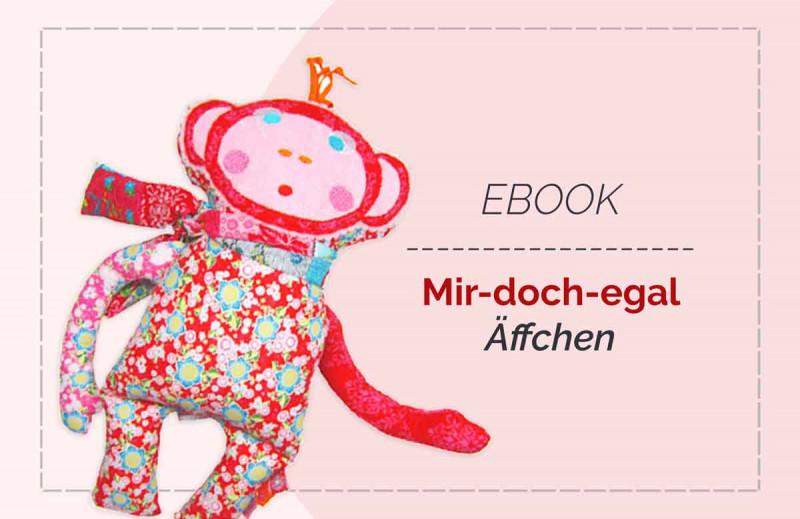 Mir-doch-egal-Affe Kuscheltier Ebook