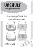 Urshult Doppeldecker-Tasche, Schnittmuster