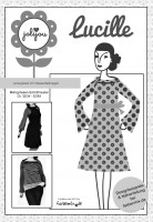 Lucille, Damenkleid, Papierschnittmuster
