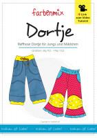 DORTJE, Jeans und Basic-Hose, Papierschnittmuster