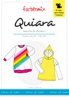 QUIARA, Basic-Kindershirt, Schnittmuster