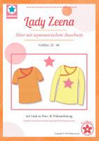 Lady Zeena, Damenshirt, miaLuna Papierschnittmuster