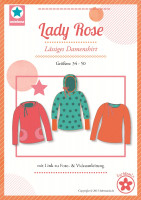 Lady Rose, Damenshirt, Schnittmuster