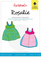 ROSALIE, Trägerkleid, Schnittmuster