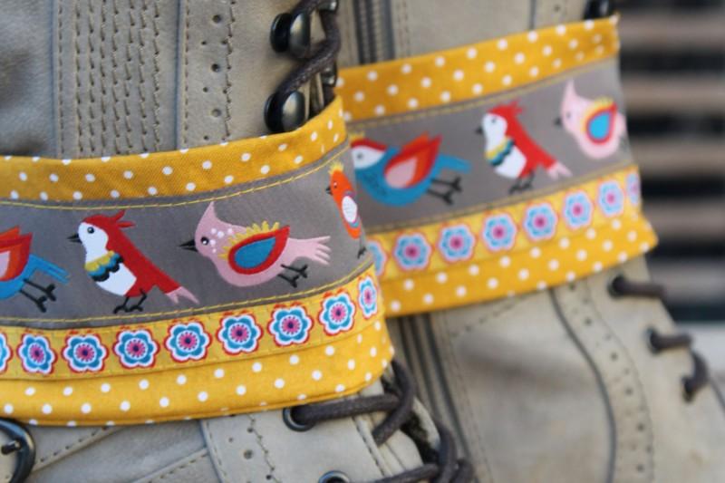 Borten-Schmuck fürs Schuhwerk von Bianca Farbenfroh