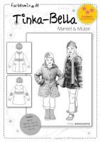 TINKA-BELLA, Mantel und Mütze, Papierschnittmuster
