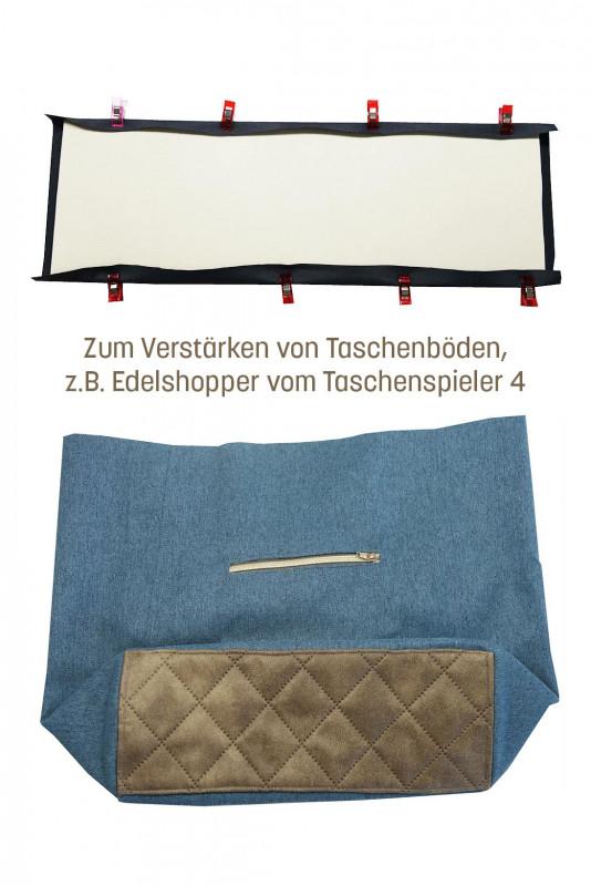 Taschenböden mit Vlieseline und Style-Vil verstärken