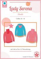 Lady Serena, Damen-Hoodie, Schnittmuster