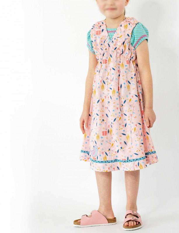 Kinderkleid Mädchenkleid Schnittmuster Kristin von farbenmix