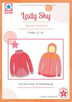 Lady Sky, Sweatjacke, Papierschnittmuster