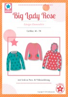 Big Lady Rose, Plus-Size-Damenshirt, Papierschnittmuster