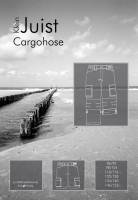 kleinJUIST, Cargohose, Schnittmuster
