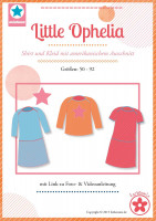 Little Ophelia, Shirt und Kleid, Schnittmuster