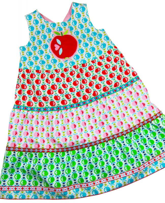 Schnittmuster Kinderkleid Lilly von farbenmix