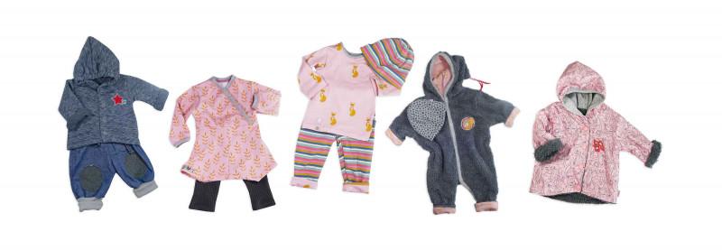 Baby Schnittmuster Set Zwergenverpackung 1 & 2 von farbenmix