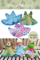 Nähanleitung Puppenkleid Mini-Elodie mit PDF-Schnittmuster zum Ausdrucken