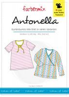 ANTONELLA, Damenshirt, Papierschnittmuster
