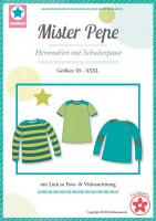 Mister Pepe, Herrenshirt mit Schulterpasse, Schnittmuster