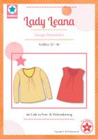 Lady Leana, Lässiges Damenshirt, Papierschnittmuster