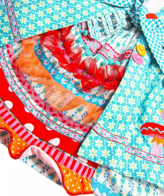 Kinderkleid Festkleid Feliz