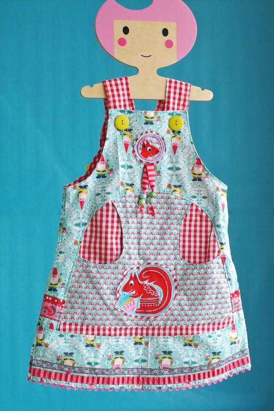 Celina Kleid mit den neuen Harvest Blossom Borten