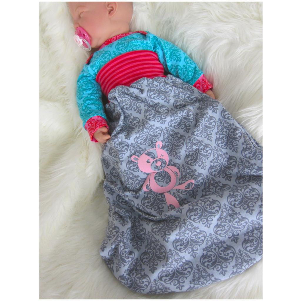Schnittmuster Babyschlafsack 0-5 Monate | farbenmix