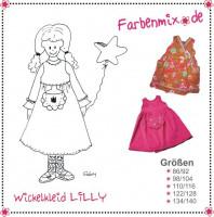 Lilly, Wickelkleid, Schnittmuster