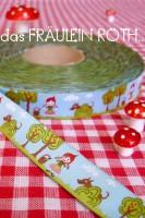 Rotkäppchen Webband von Luzia Pimpinella