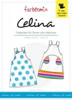 CELINA, Trägerkleid für Kinder, Papierschnittmuster