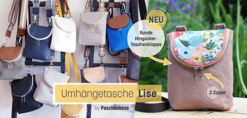 Ebook Umhängetasche Lise von Puschenhexe