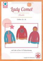 Lady Comet, Hoodie, Papierschnittmuster