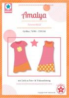 Amalya, Sommerkleid, Papierschnittmuster