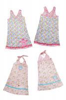 XENIA, Kinderkleid mit Wickeloberteil, Schnittmuster