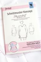 Blusenshirt, Schnittmuster-Konzept