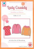 Lady Cassidy, Damentunika aus Webware, Papierschnittmuster