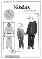 NIKOLAS, Jogginganzug für Jungs, Papierschnittmuster