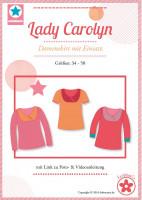 Lady Carolyn, Damenshirt mit Einsatz, Schnittmuster