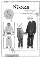 NIKOLAS, Jogginganzug für Jungs, Schnittmuster